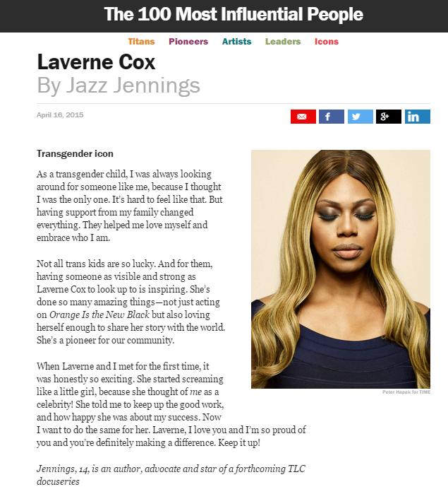 Time 2015 Laverne