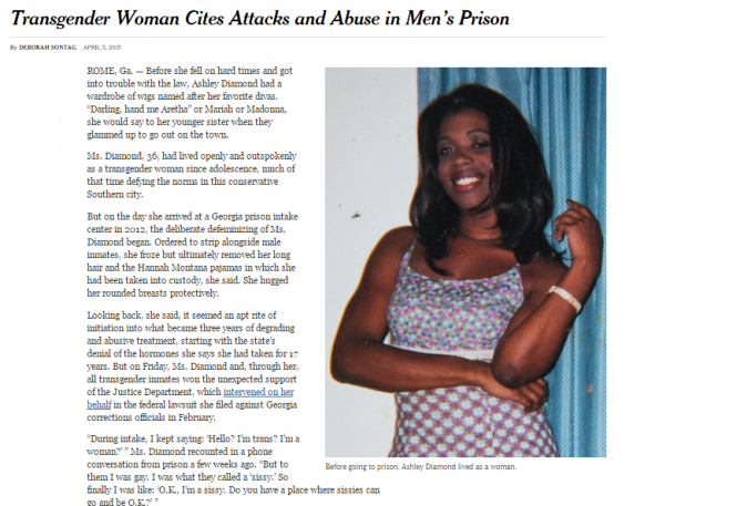 Trans Woman Cites Attack