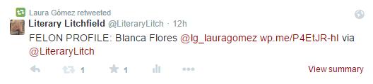Laura Gomez Twitter