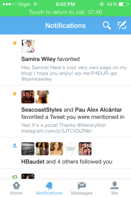 Samira Wiley Twitter Favorite
