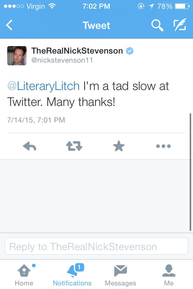 Nick Stevenson Twitter 2