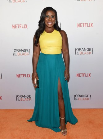 "Uzo Aduba (Suzanne ""Crazy Eyes"" Warren) would bring pie (the ""obligatory answer""). She later asked BuzzFeed: ""How much time do you have? I'm gonna lean on the can of Pringles. Love 'em."""