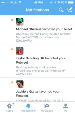 Michael Chernus Twitter