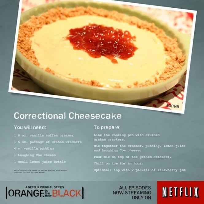 Correctional Cheesecake