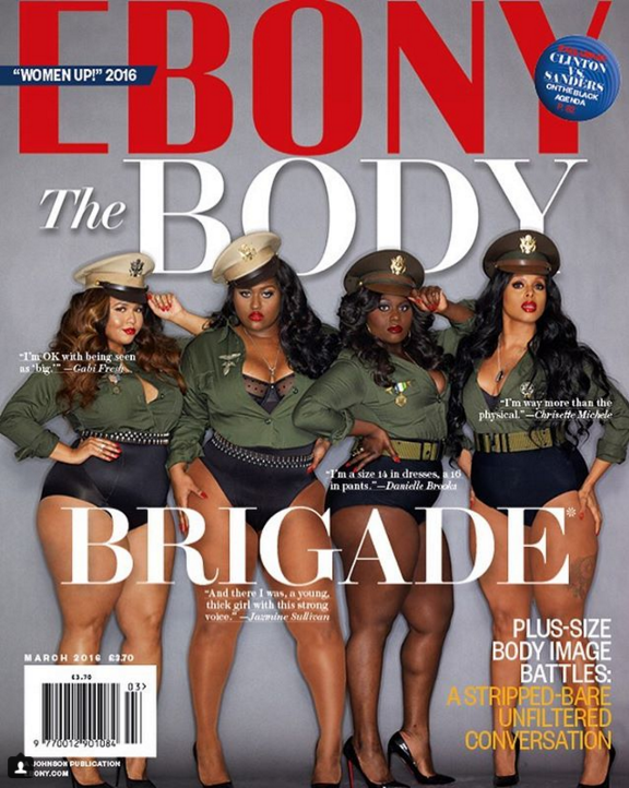 Danielle Brooks on Cover of Ebony Magazine