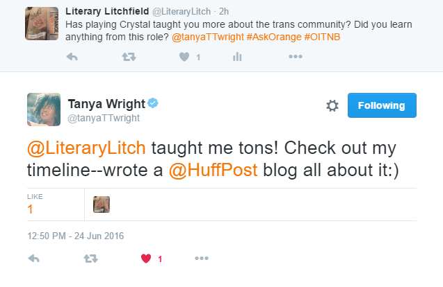 Tanya Wright (Crystal Burset)