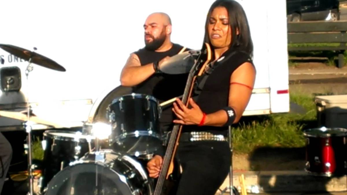 Did You Know? Jessica Pimentel (Maria Ruiz) Fronts a Heavy Metal Band