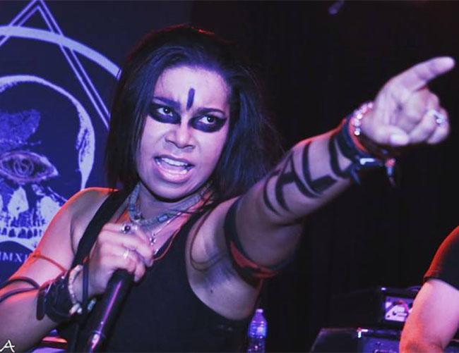 Jessica Pimentel The Crusher Metal Band Singing Singer