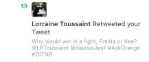 Lorraine Toussaint (Vee Parker)